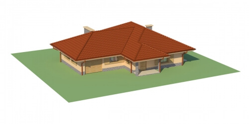 Projekt domu DM-6097 - model
