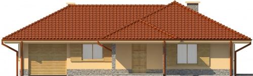 Projekt domu DM-6097 - elewacja