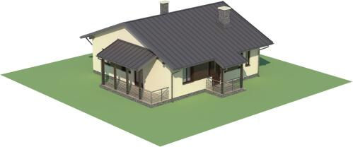 Projekt domu DM-6101 - model