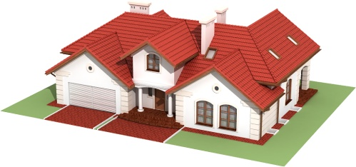 Projekt domu DM-6192 B - model