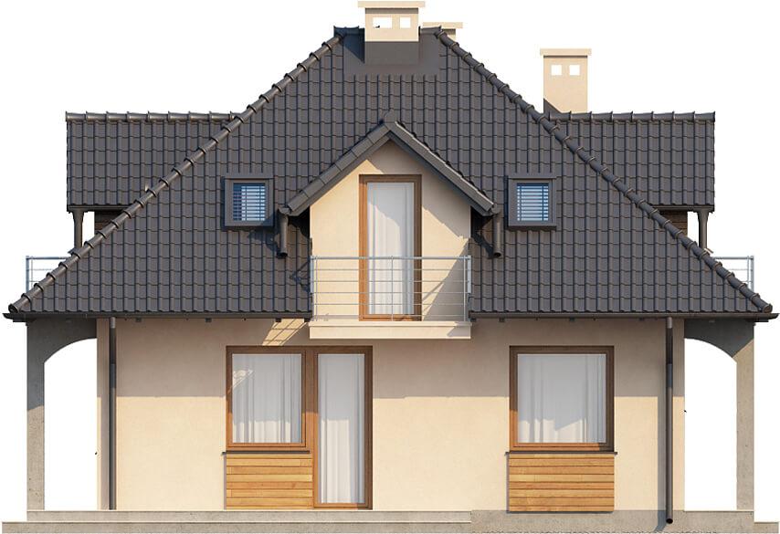 Projekt domu DM-6410 - elewacja