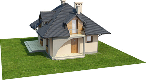 Projekt domu DM-6410 - model