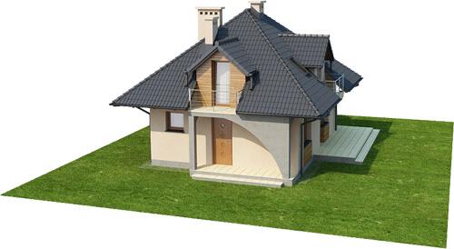 Projekt domu L-6410 - model