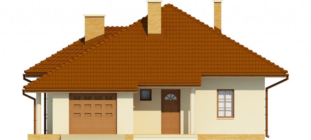 Projekt domu DM-6459 - elewacja
