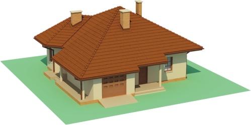 Projekt domu DM-6459 - model
