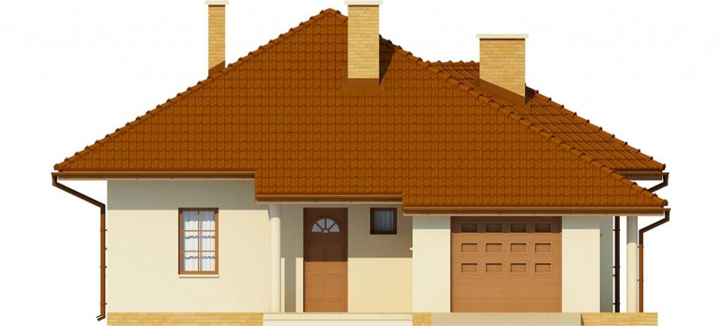 Projekt domu L-6459 - elewacja