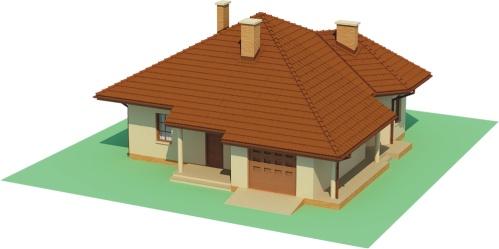 Projekt domu L-6459 - model
