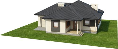 Projekt domu L-6447 - model