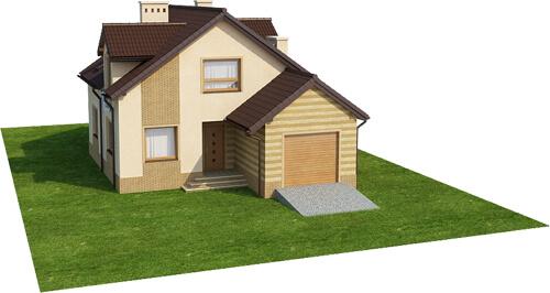 Projekt domu DM-6435 - model
