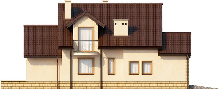 Projekt domu L-6435 - elewacja