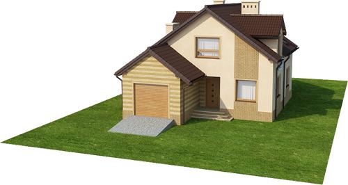 Projekt domu L-6435 - model