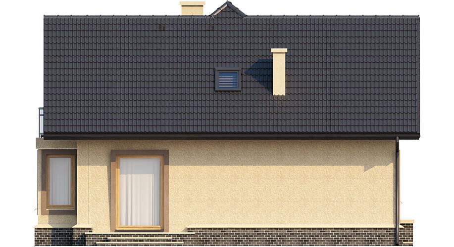 Projekt domu DM-6424 - elewacja