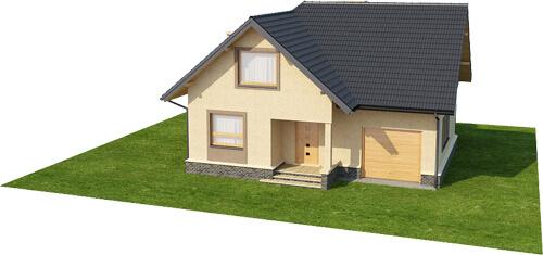 Projekt domu DM-6424 - model