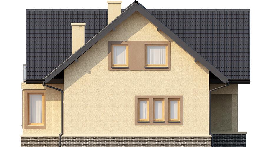 Projekt domu L-6424 - elewacja