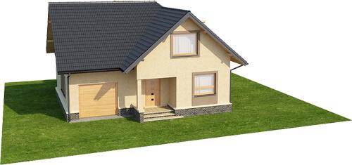 Projekt domu L-6424 - model