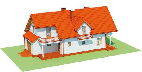 Projekt domu DM-6457 - model