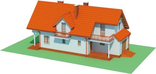 Projekt domu L-6457 - model