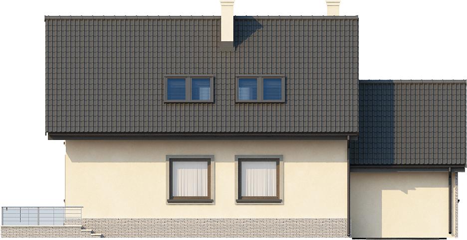 Projekt domu DM-6434 - elewacja
