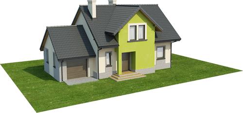 Projekt domu DM-6434 - model