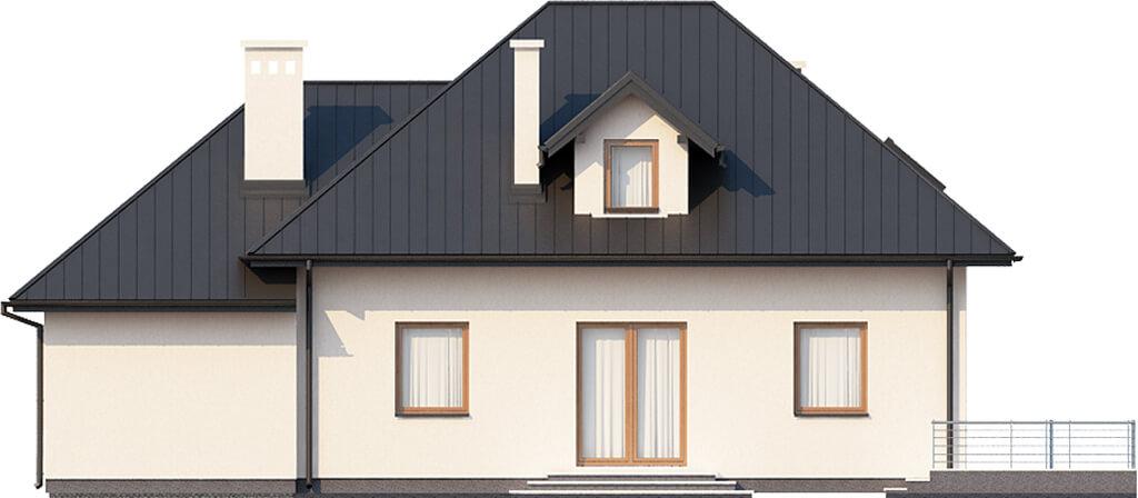 Projekt domu DM-6426 - elewacja