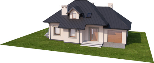 Projekt domu DM-6426 - model