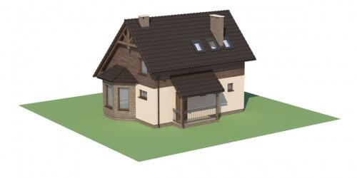 Projekt domu DM-6105 - model