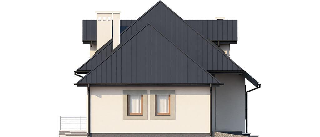 Projekt domu L-6426 - elewacja
