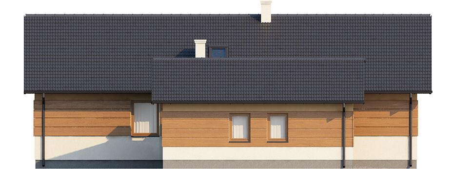 Projekt domu DM-6425 - elewacja