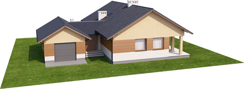 Projekt domu DM-6425 - model