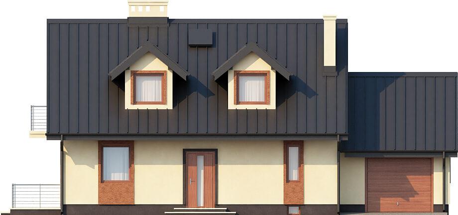 Projekt domu DM-6431 - elewacja