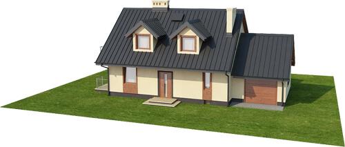 Projekt domu DM-6431 - model