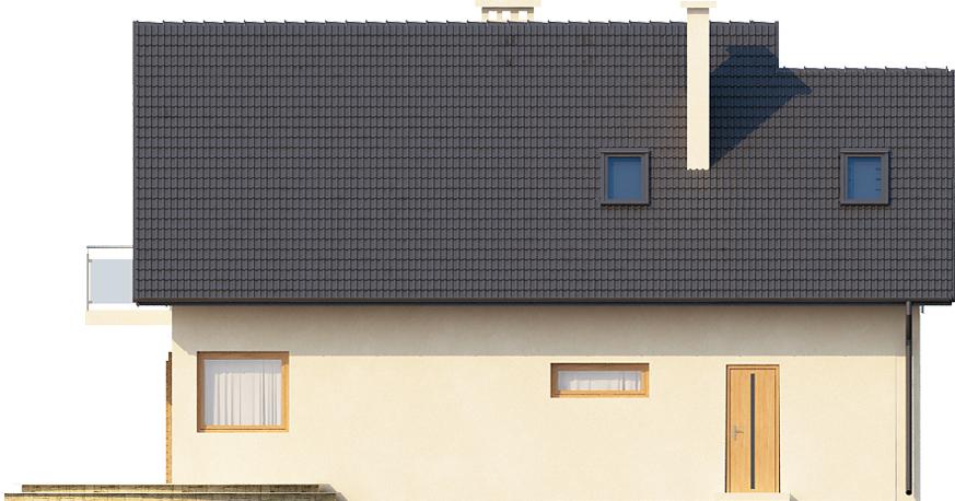 Projekt domu DM-6389 - elewacja
