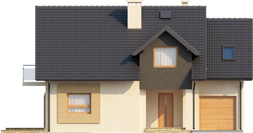 Projekt domu L-6389 - elewacja