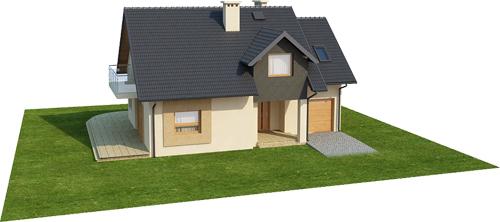 Projekt domu L-6389 - model
