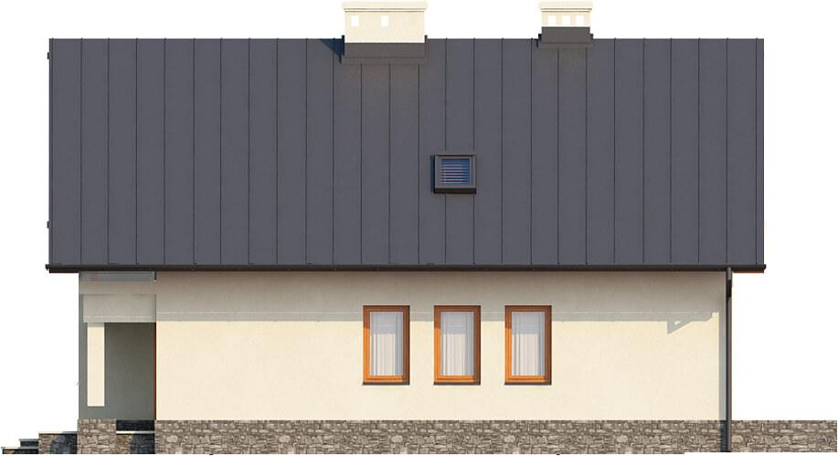Projekt domu DM-6430 - elewacja
