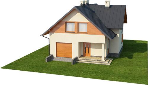 Projekt domu DM-6430 - model