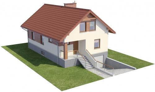 Projekt domu DM-6106 - model