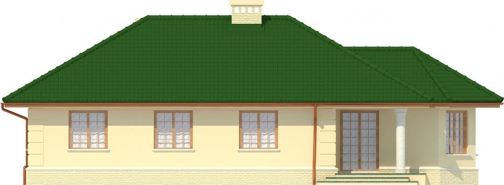 Projekt domu DM-6429 - elewacja