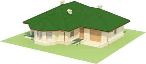 Projekt domu DM-6429 - model
