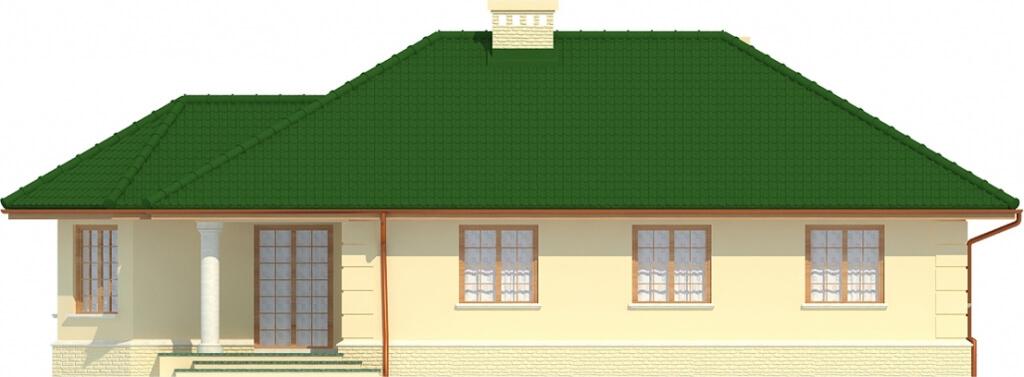 Projekt domu L-6429 - elewacja