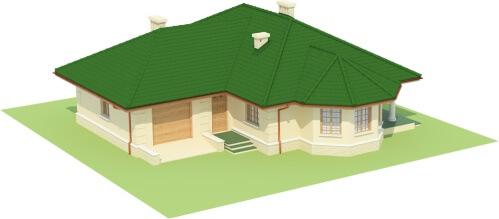 Projekt domu L-6429 - model