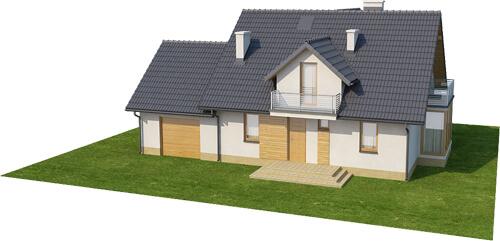 Projekt domu DM-6382 - model