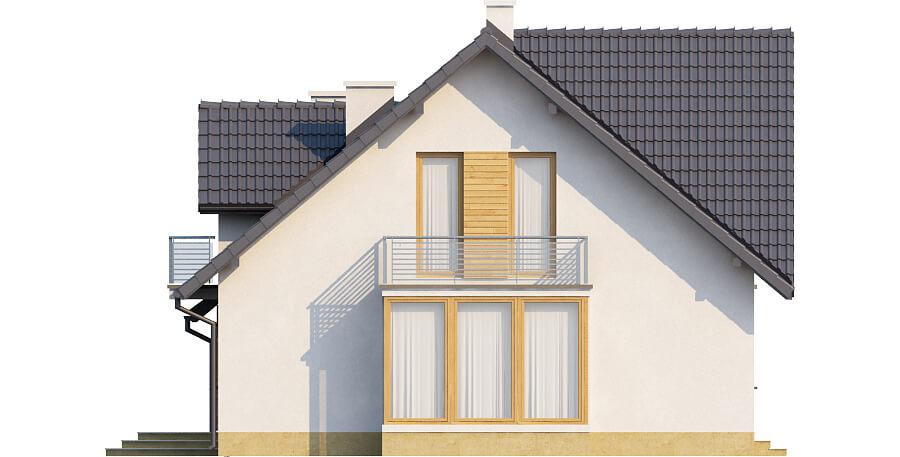 Projekt domu DM-6382 - elewacja