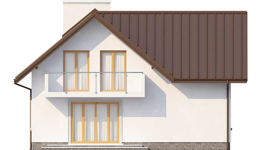 Projekt domu DM-6374 - elewacja