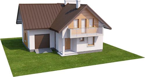 Projekt domu DM-6374 - model