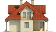 Projekt domu DM-6458 - elewacja