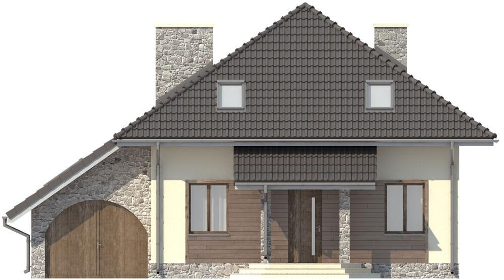 Projekt domu DM-5521 - elewacja