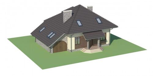 Projekt domu DM-5521 - model