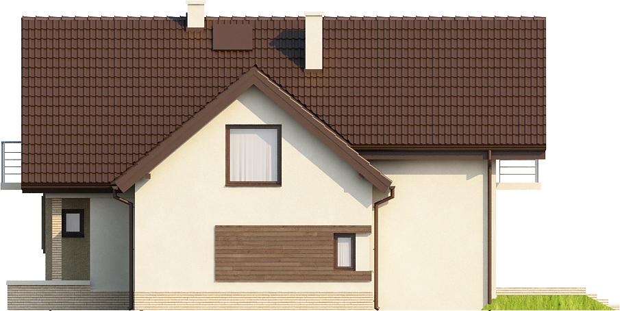 Projekt domu DM-6380 - elewacja