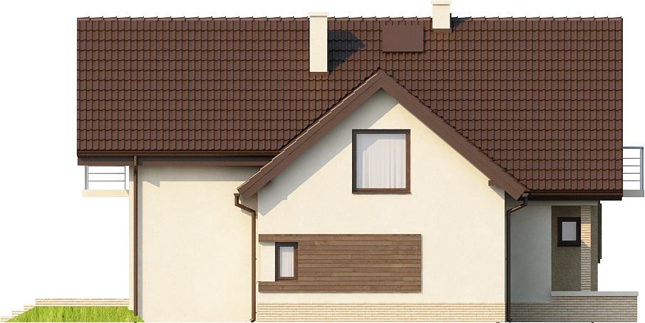 Projekt domu L-6380 - elewacja
